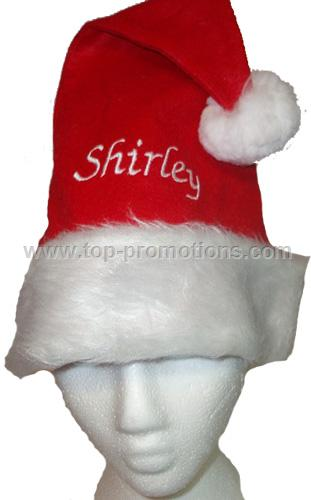 Personalised Christmas Santa Hat - Any Name