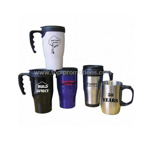 450ml plastic thermal mug