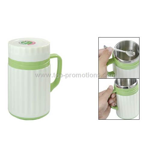 450ML Plastic Ice Drink Ware Heat Preservation Cup