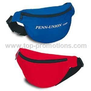 One Pocket Nylon Fanny Pack
