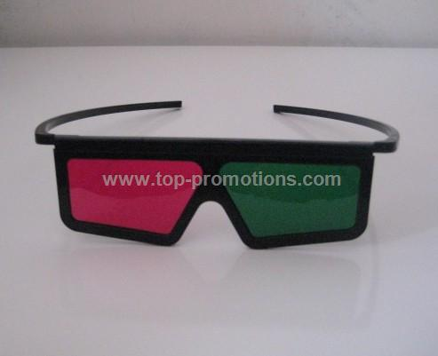 Green/Magenta Anaglyph Glasses