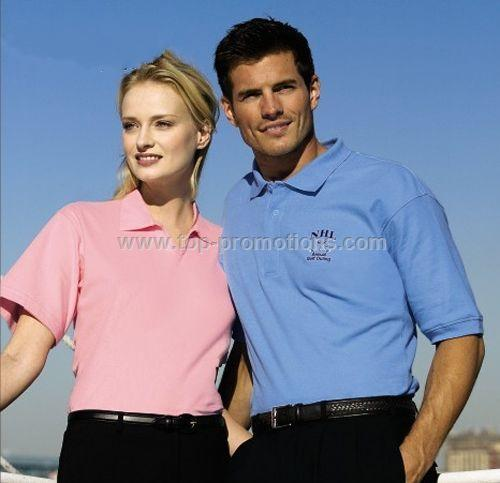 Men Solid Egyptian Pima Polo Shirt