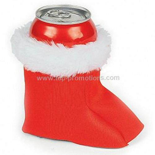 Christmas Stocking Can Cooler Covers