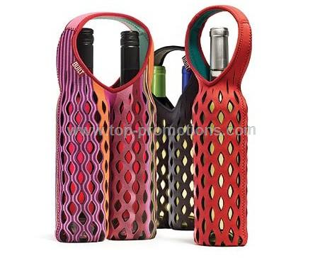 Neoprene Fishnet Wine Tote One Bottle