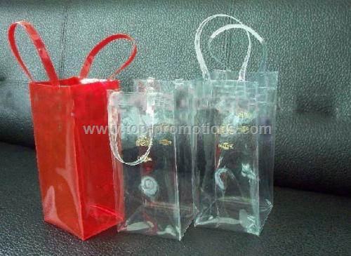 Promotional PVC Ice Bag for Wine Bottles