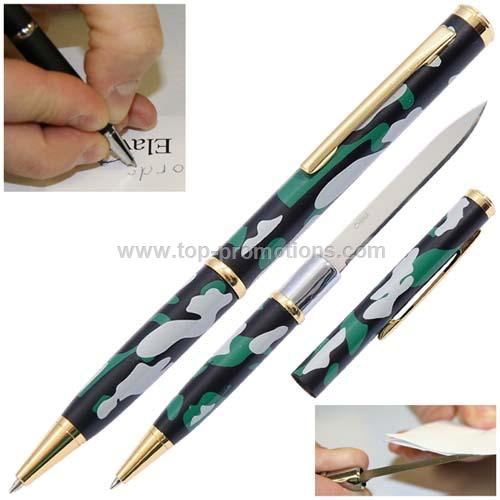 Elegant Executive Letter Opener Pen Knife Camo