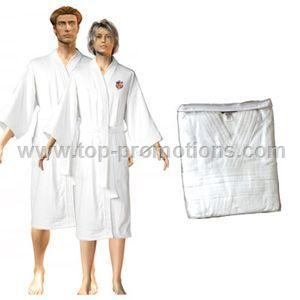His and Her Embroidered Bathrobe