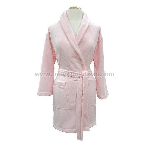 Ladies Lounge-About Microfleece House Coat