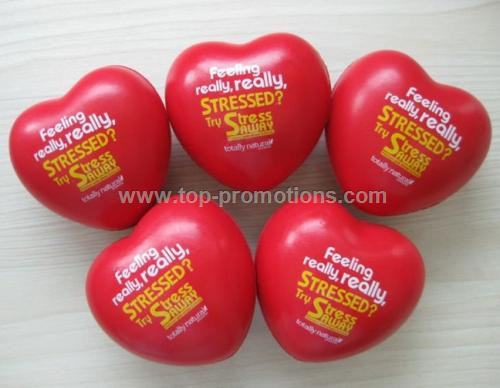 PU Heart stress ball
