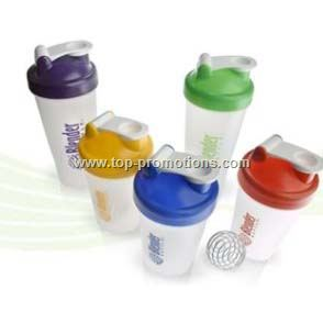 Shaker cups with spring