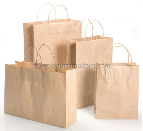 Shopping Bag - Medium Kraft Paper