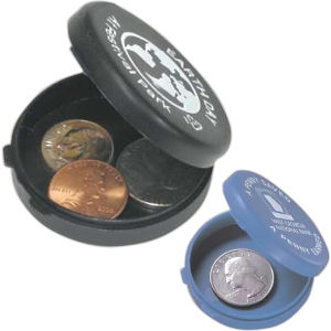 Recycled Round Coin Case