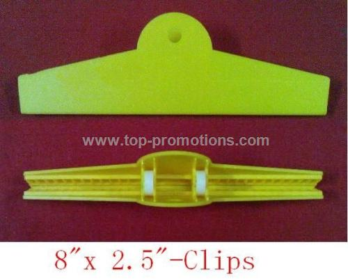 Bag clip or chip clip 8 inch wide