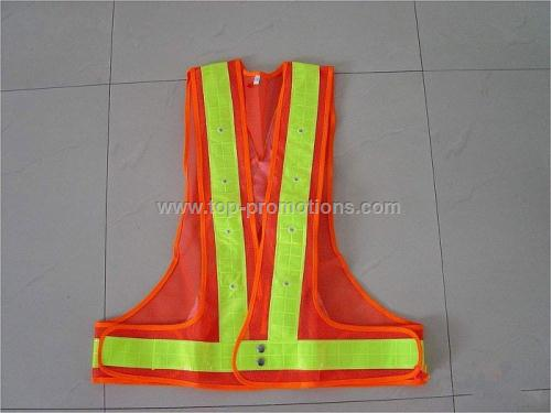 LED safety vests