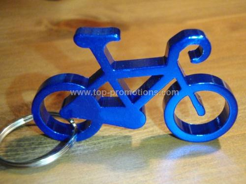 Bicycle Bottle Opener w/ key ring