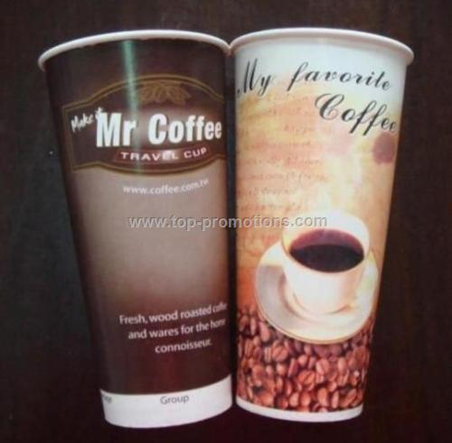 double-walled paper cup 16oz