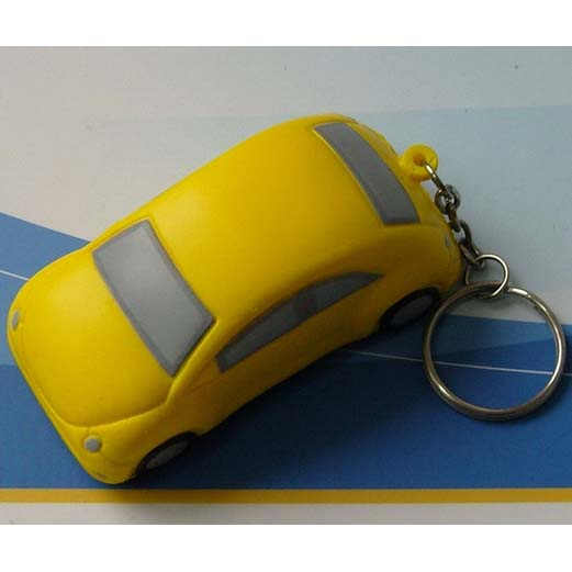 Car Stress Ball with keyring