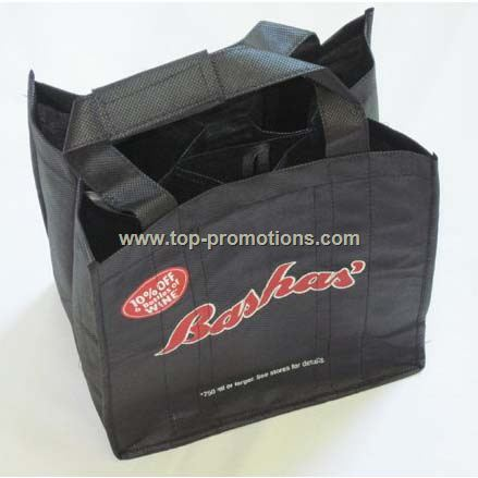 6 bottle wine bag