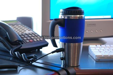 16 oz. Dual Auto/USB Heated Mug
