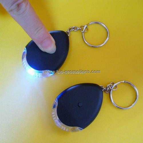 LED Keychain Finder with Torch