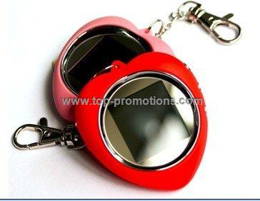 1.5 Inch Heart Chain Key  Digital Photo Frame