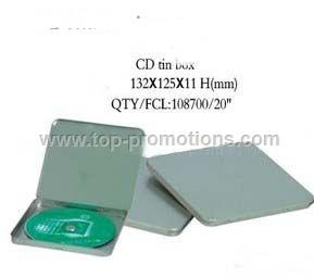 CD tin box