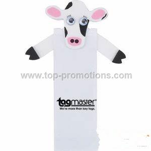 Bessie the Cow Character Magnetic Bookmark