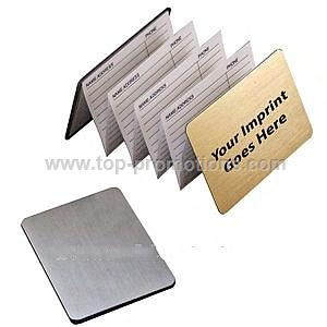 Magnetic address book