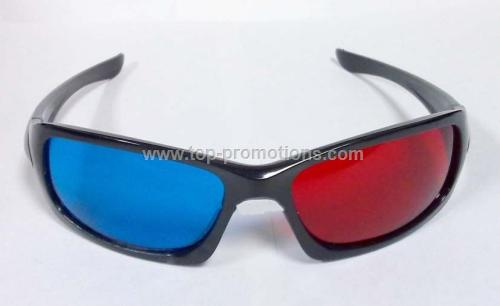 Plastic 3D Glasses
