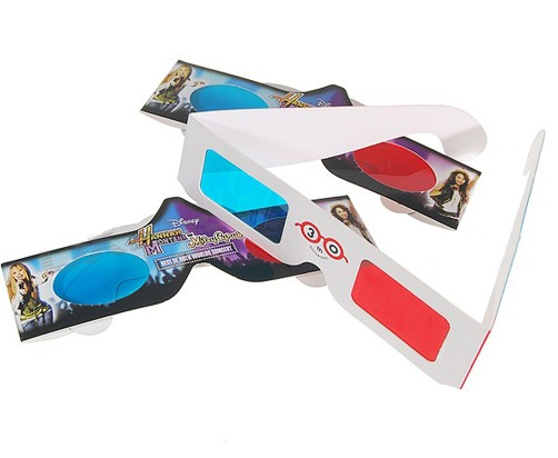 3D Visual Paper Glasses