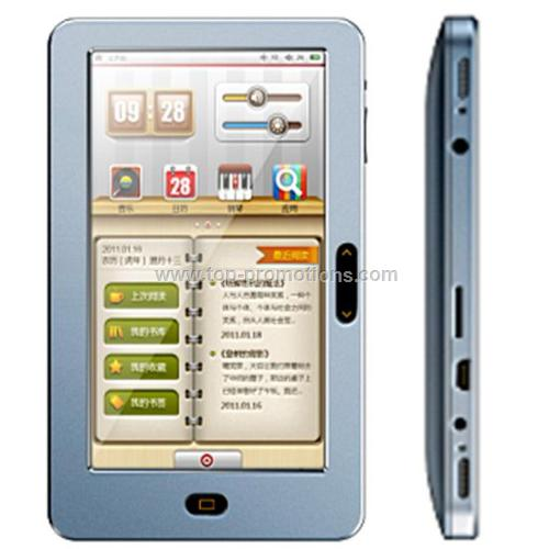 7 inch TFT touch screen E-BOOK