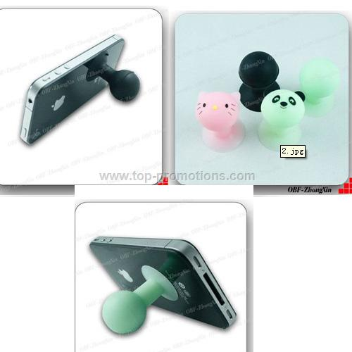 Various colors of silicone mobile phone holder