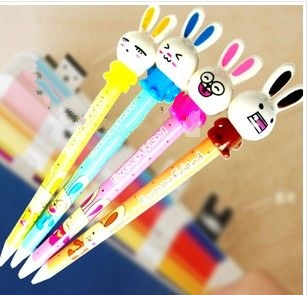 Stock Rabbit cartoon pen