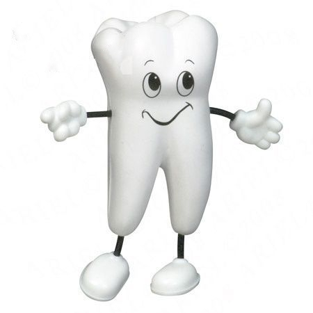 Tooth Figure Squeeze Toy