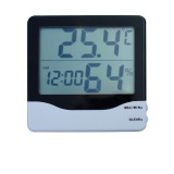 Thermo Hygrometer With Clock