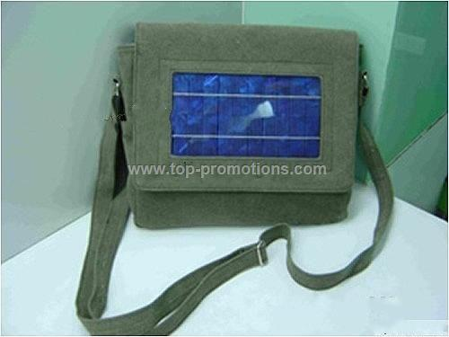 Solar bag charger