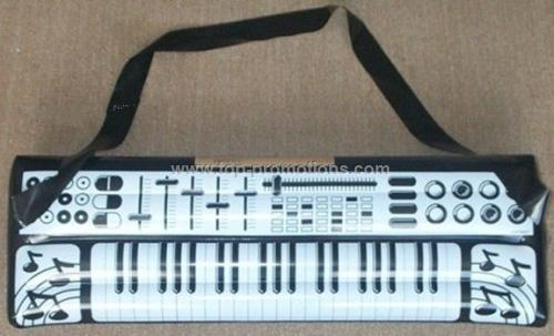 Inflatable electronic organ