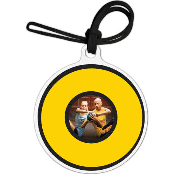Luggage Tag - Round with Tab