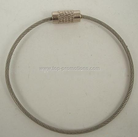 Metal Cord for Luggage Tag etc