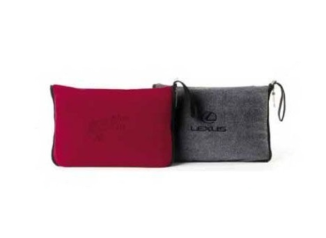 ECO Fleece Sport/Travel Blanket Red