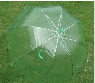 Newest style PVC clear apollo umbrella