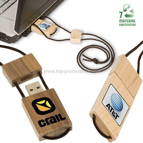 Sierra Wooden USB Drive 2.0 4gb