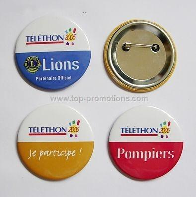 Tin Button Badge