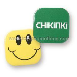 32mm Square Button Badge