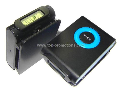 Single Pedometer with clip