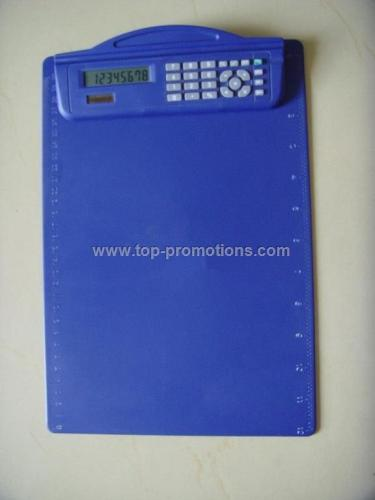 Calculator Clipboard printed ruler