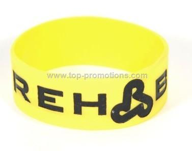 silicone closed bracelets