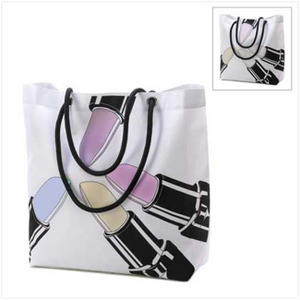 Lipstick Magic Color Changing Tote Bag