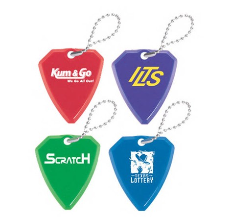 Promotional Guitar Pick Lottery Scraper