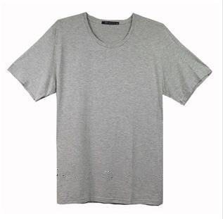 cotton Round T-shirt for man